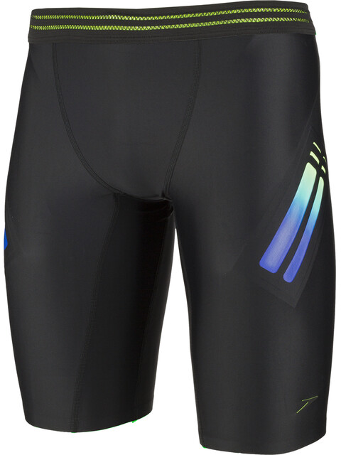 speedo Hydrosense Bonded Jammers Men, black/green